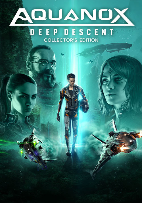 Aquanox Deep Descent - Collector's Edition - Cover / Packshot
