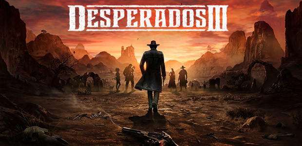 Desperados III - Cover / Packshot