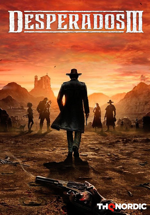Desperados III - Cover / Packshot
