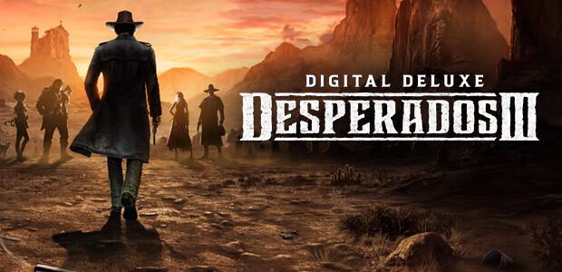 Desperados III - Deluxe Edition - Cover / Packshot