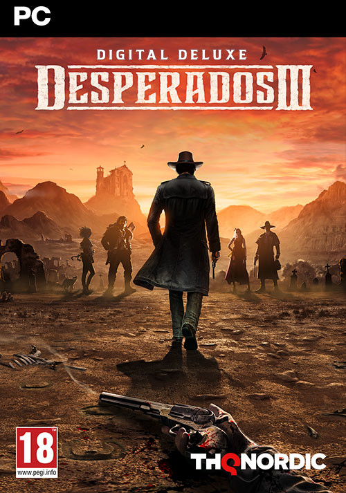 Desperados III - Deluxe Edition - Cover / Packshot