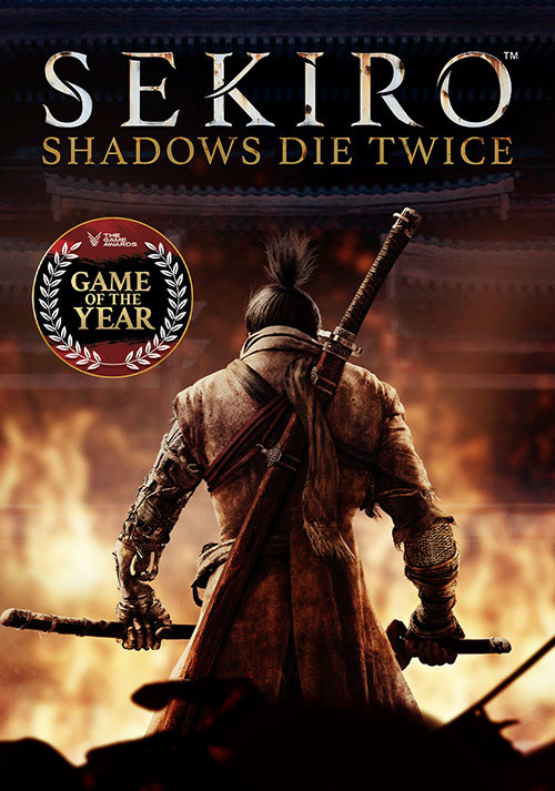 Sekiro: Shadows Die Twice - Cover / Packshot
