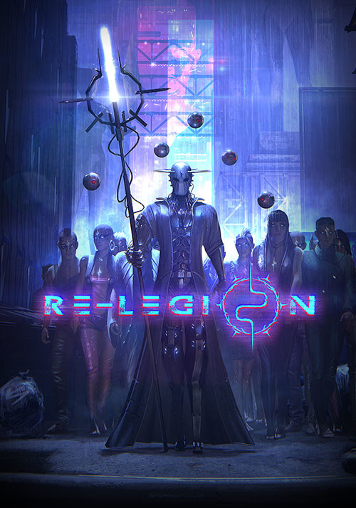 Re-Legion - Cover / Packshot