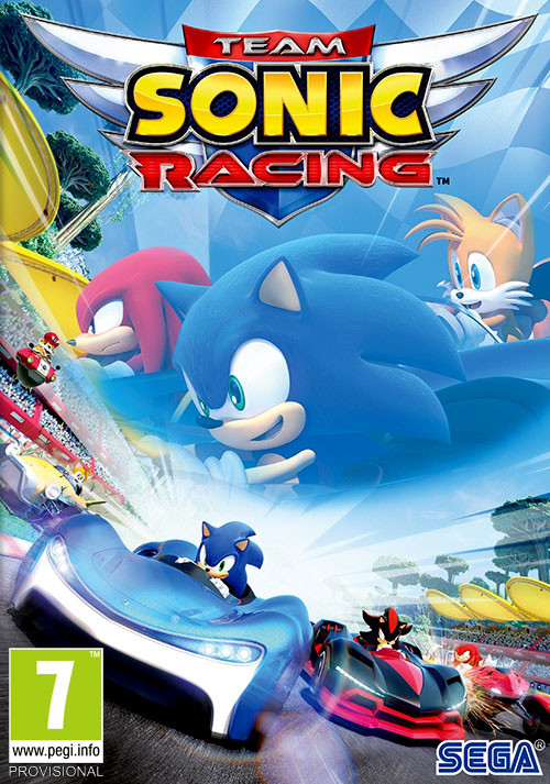 Team Sonic Racing - Cover / Packshot