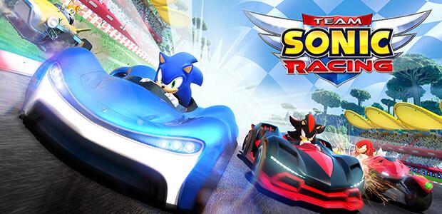 Team Sonic Racing - Cover / Packshot