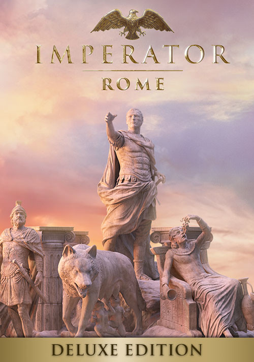 Imperator: Rome - Deluxe Edition - Cover / Packshot