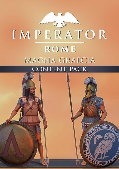 Imperator: Rome - Magna Graecia Content Pack - Cover / Packshot