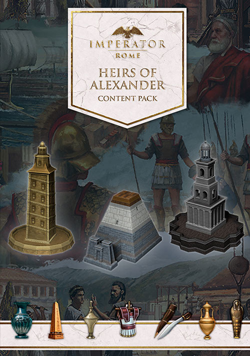 Imperator: Rome - Heirs of Alexander Content Pack - Cover / Packshot