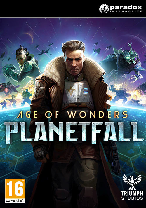 Age of Wonders: Planetfall - Cover