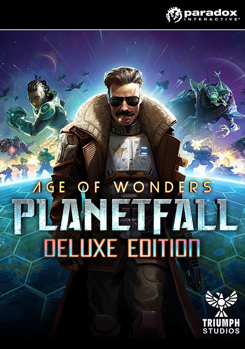 Age of Wonders: Planetfall - Deluxe Edition - Cover / Packshot