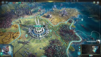 Screenshot2 - Age of Wonders: Planetfall - Deluxe Edition