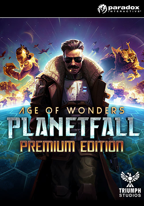 Age of Wonders: Planetfall - Premium Edition - Cover