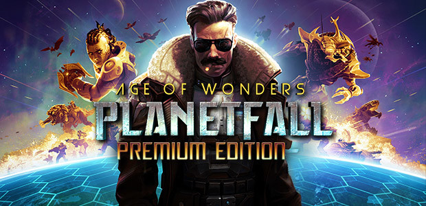 Age of Wonders: Planetfall - Premium Edition - Cover / Packshot