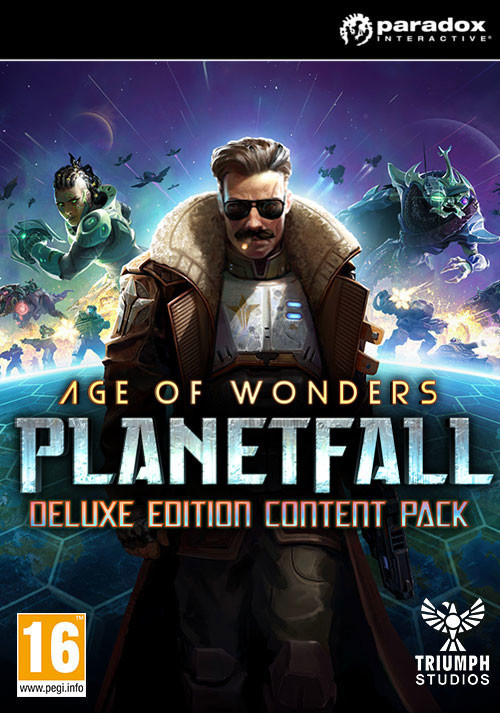 Age of Wonders: Planetfall Deluxe Edition Content - Cover / Packshot