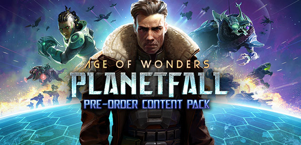 Age of Wonders: Planetfall Pre-Order Content - Cover / Packshot