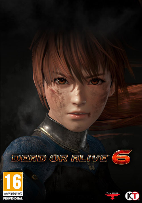 DEAD OR ALIVE 6 - Cover