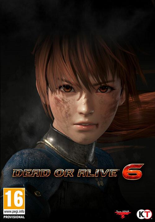 DEAD OR ALIVE 6 - Cover / Packshot
