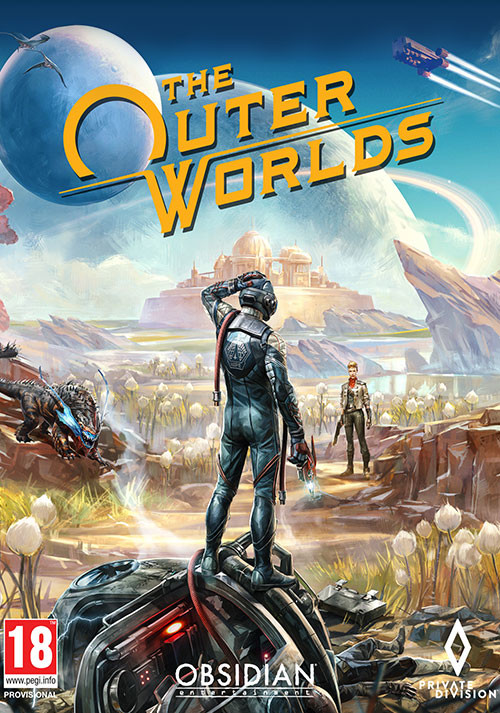 The Outer Worlds - Cover