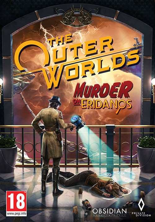 The Outer Worlds: Murder on Eridanos - Cover / Packshot