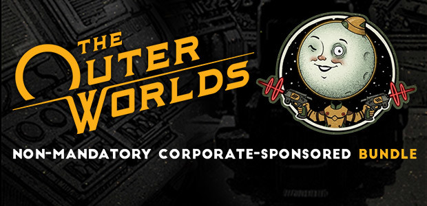 The Outer Worlds: Non-Mandatory Corporate-Sponsored Bundle (Epic) - Cover / Packshot
