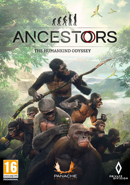Ancestors: The Humankind Odyssey - Cover