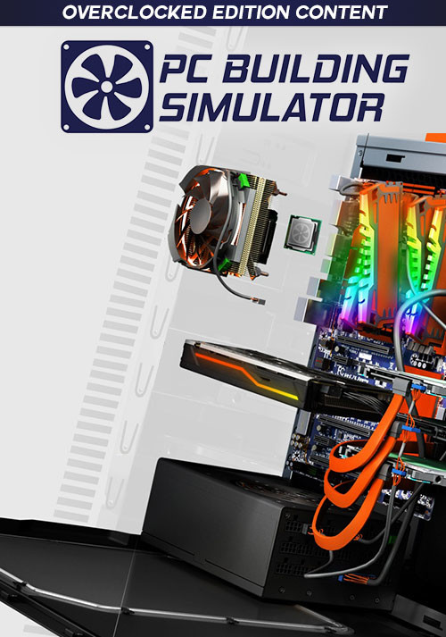 PC Building Simulator - Overclocked Edition Content - Cover / Packshot