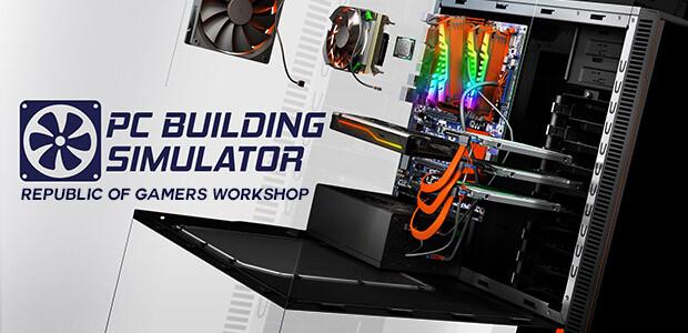PC Building Simulator - Republic of Gamers Workshop - Cover / Packshot