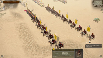 Screenshot2 - Field of Glory II: Wolves at the Gate