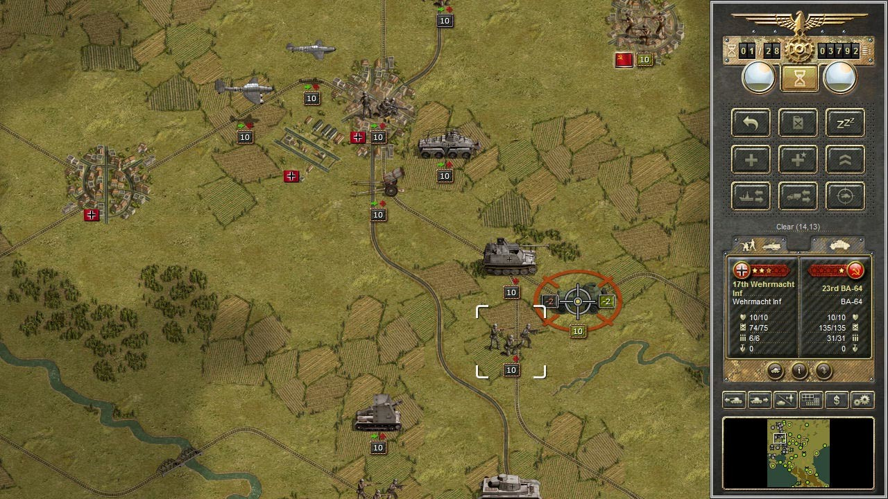Panzer Corps [Steam CD Key] for PC and Mac - Buy now