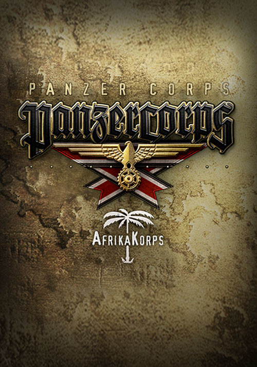 Panzer Corps: Afrika Korps - Cover