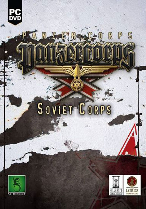 Panzer Corps: Soviet Corps - Cover / Packshot