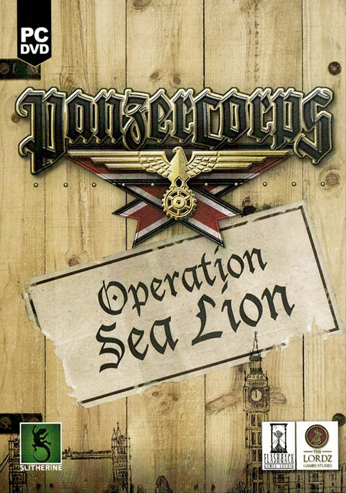 Panzer Corps Sea Lion - Cover / Packshot