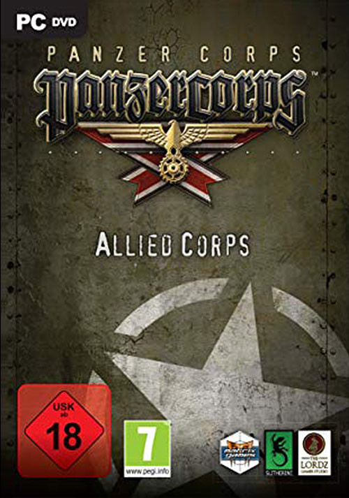 Panzer Corps: Allied Corps - Cover / Packshot