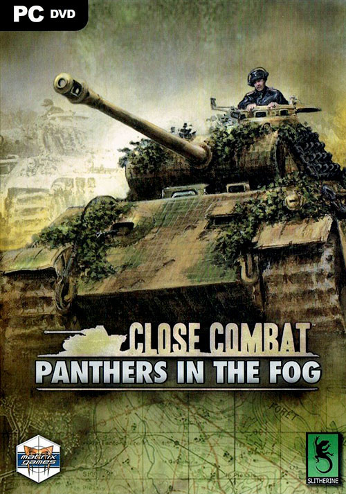 Close Combat - Panthers in the Fog - Cover