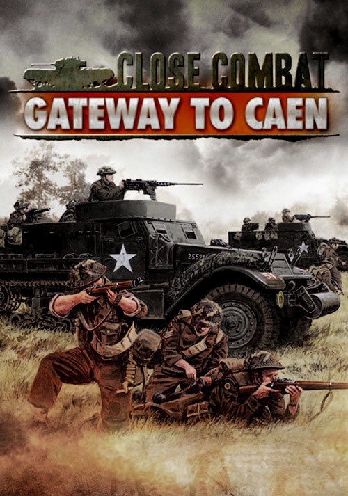 Close Combat - Gateway to Caen - Cover / Packshot