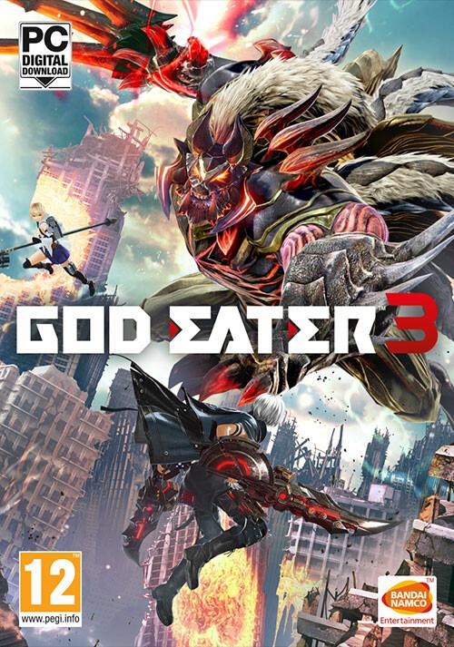 GOD EATER 3 - Cover / Packshot