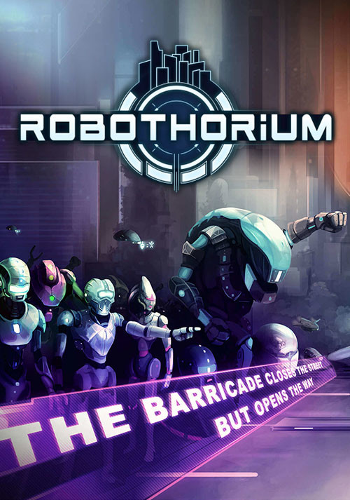Robothorium: Sci-fi Dungeon Crawler - Cover / Packshot