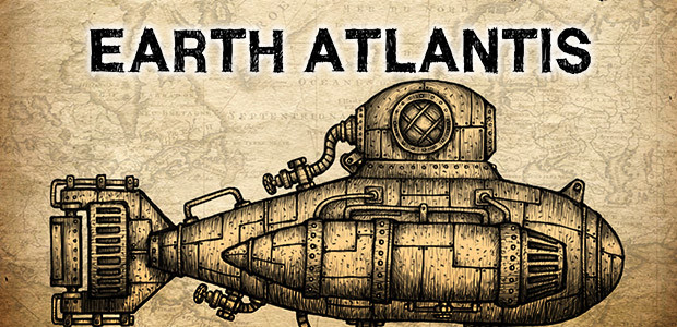 Earth Atlantis - Cover / Packshot