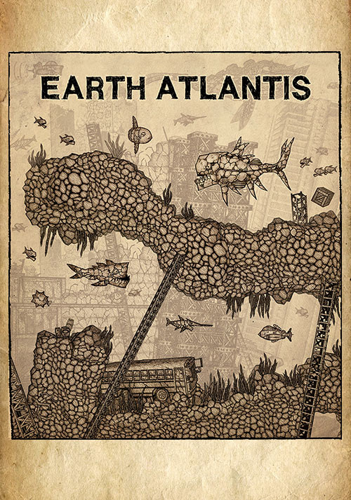 Earth Atlantis - Cover