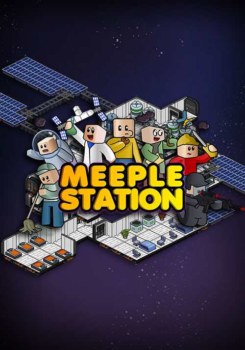 Meeple Station - Cover / Packshot