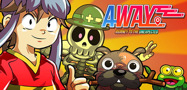 AWAY: Journey to the Unexpected - Cover / Packshot