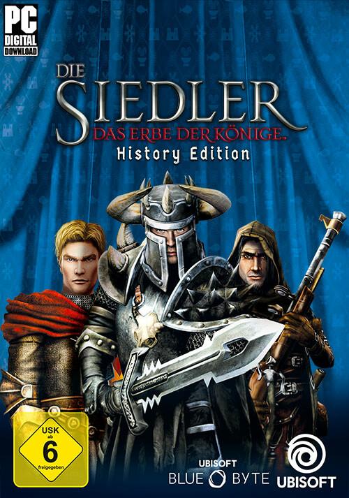 Die Siedler: Das Erbe der Könige -History Edition - Cover / Packshot