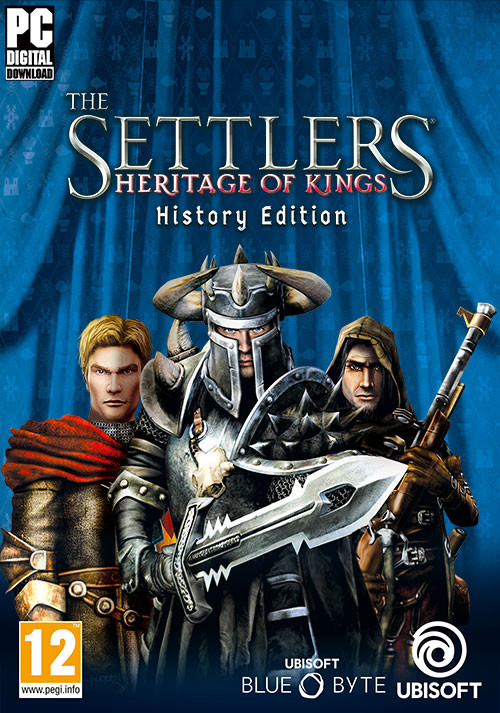 The Settlers: Heritage of Kings - History Edition - Cover / Packshot