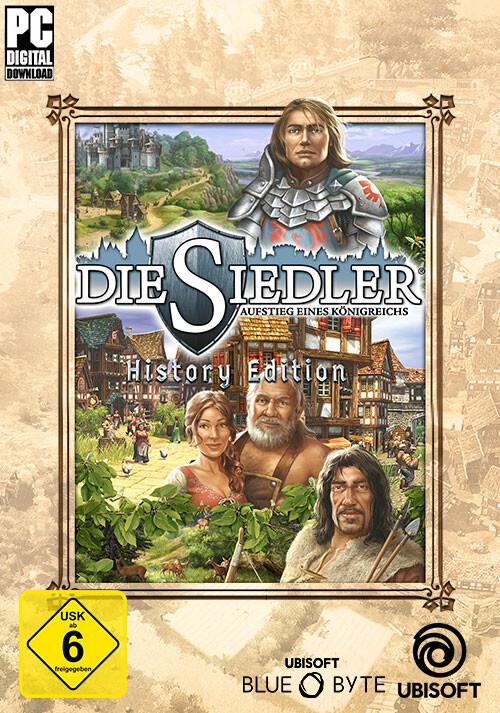 Die Siedler: Aufstieg eines Königreiches - History Edition - Cover / Packshot