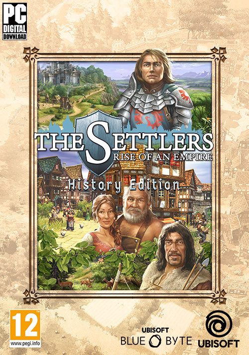 The Settlers: Rise of an Empire - History Edition - Cover / Packshot