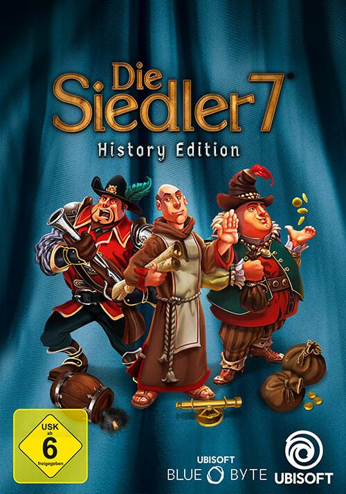 Die Siedler 7 - History Edition - Cover / Packshot