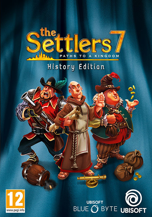 The Settlers 7 - History Edition - Cover