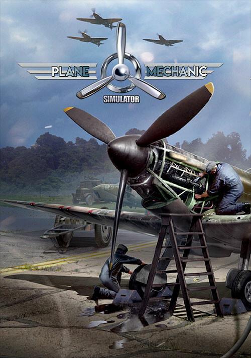 Plane Mechanic Simulator - Cover / Packshot