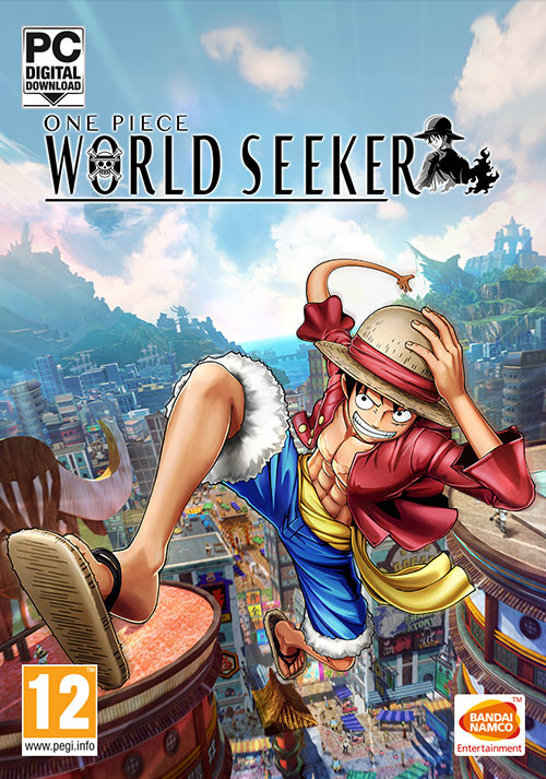 One Piece World Seeker - Cover