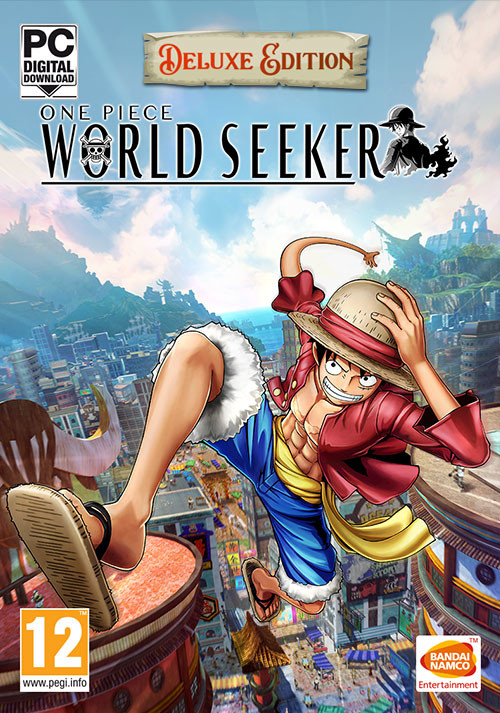 One Piece World Seeker Deluxe Edition - Cover